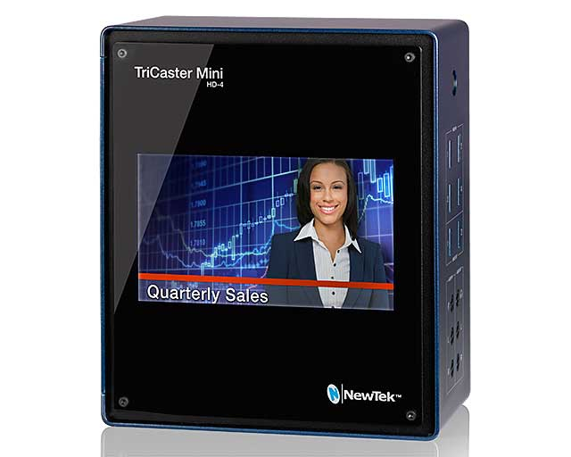 NewTek TriCaster Mini Side