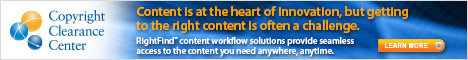 Copyright Clearance Center - Content is at the Heart of Innovation